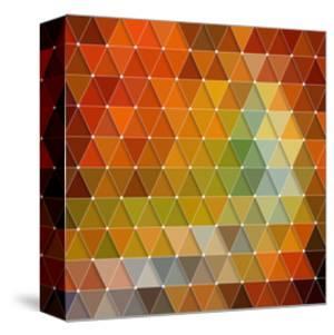 Colorful Triangles Background by Maksim Krasnov