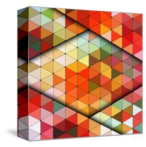 Vector Triangles Pattern by Maksim Krasnov