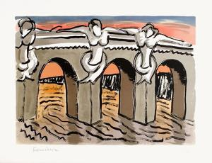 Le Pont-Neuf by Man Ray