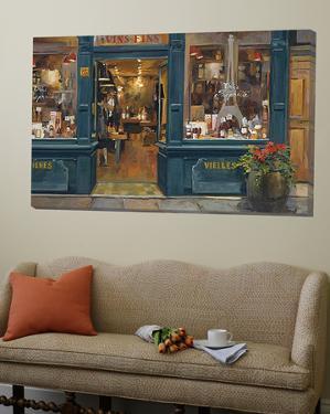 Parisian Wine Shop by Marilyn Hageman