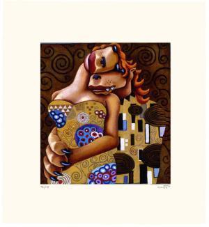 Coyote Portrait of Klimt by Markus Pierson