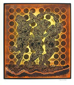 Three Dancers by Martin Barooshian