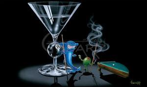 Pool Shark by Michael Godard