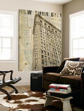 Vintage NY Flat Iron by Michael Mullan