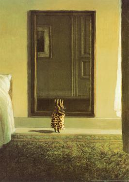 Bunny Dressing by Michael Sowa