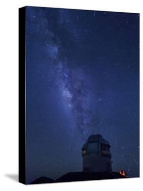 USA, Hawaii, the Big Island, Mauna Kea Observatory (4200m), Gemini Northern Telescope and Milky Way by Michele Falzone