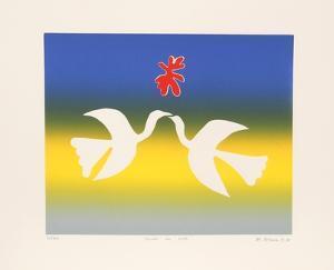 Birds in Love by Mireille Kramer
