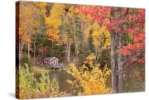 Boathouse In Autumn, Marquette, Michigan '12 by Monte Nagler