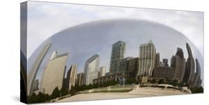 Chicago Reflections, Chicago, Illinois 07 by Monte Nagler