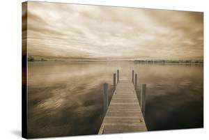 Dock at Crooked Lake, Conway, Michigan 09 by Monte Nagler