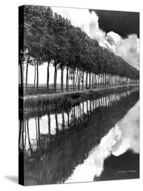 Holland Canal, Sluis, Holland by Monte Nagler