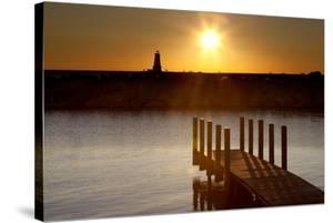 Ludington Sunset, Ludington, Michigan '12 by Monte Nagler