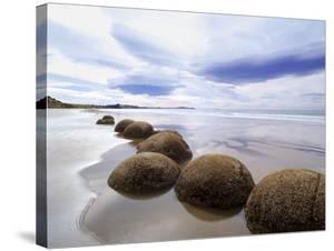 Moeraki Boulders #3, New Zealand 98 by Monte Nagler
