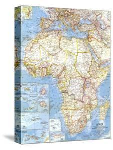 Maps of africa posters and prints at art 1960 africa mapnational geographic maps gumiabroncs Choice Image