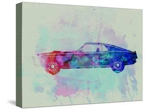 Ford Mustang Watercolor 1 by NaxArt