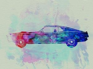Mustang posters and prints at art ford mustang watercolor 1naxart art print malvernweather Image collections