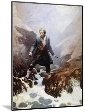 Stevenson: Kidnapped, 1913 by Newell Convers Wyeth