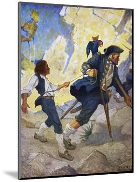 Treasure Island, 1911 by Newell Convers Wyeth