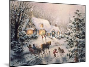 Christmas Visit by Nicky Boehme
