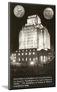 Night, Edison Building, Los Angeles, California