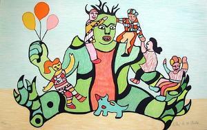Le Monstre by Niki De Saint Phalle