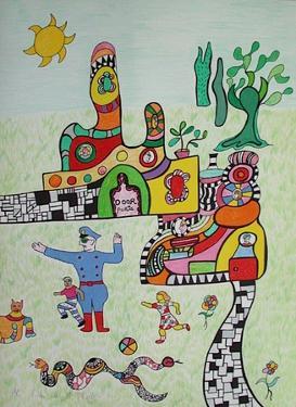 Mechant-Mechant - Sortie Decole by Niki De Saint Phalle