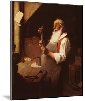 Santa's Workshop by Norman Rockwell