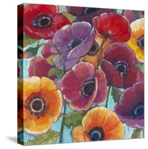 Electric Poppies 1 by Norman Wyatt Jr.