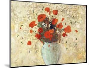 Vase of Poppies by Odilon Redon