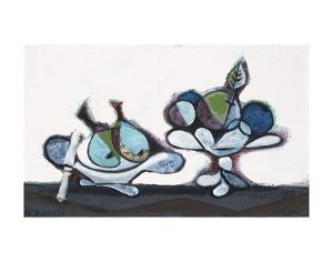 Dish of Pears, 1936 by Pablo Picasso