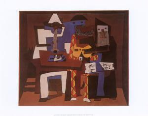 Three Musicians, c.1921 by Pablo Picasso