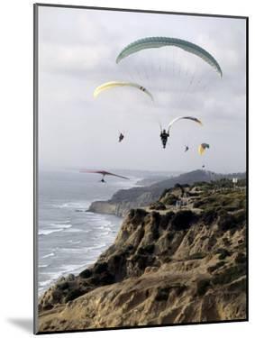 Paragliding, Torrey Pines, California, USA