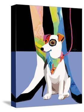 Bandana Dog by Patti Mollica