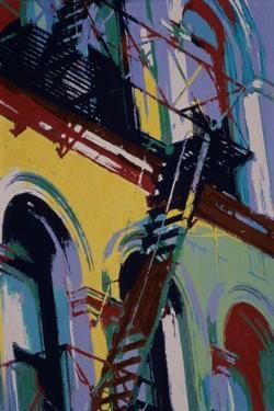 Colored Arches by Patti Mollica