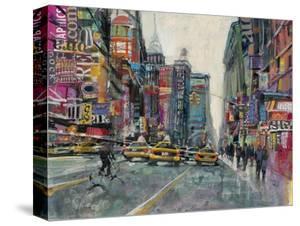 New York Collage 1 by Patti Mollica