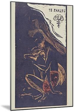 Te Faruru (Here We Make Lov) from the Series Noa Noa, 1893-1894 by Paul Gauguin