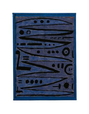 Heroic Strokes of the Bow, c.1928 by Paul Klee