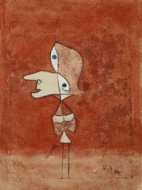 Portrait of Brigitte (Whole Figure) by Paul Klee