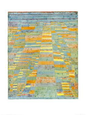 Primary Route and Bypasses, c.1929 by Paul Klee