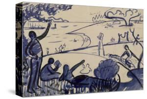 Au Temps d'Harmonie by Paul Signac