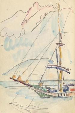 Carnet : Bateau by Paul Signac