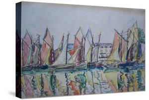 Le Pouliguen, 1929 by Paul Signac