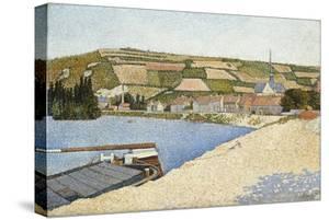 Les Andelys, Côte D'Aval, 1886 by Paul Signac