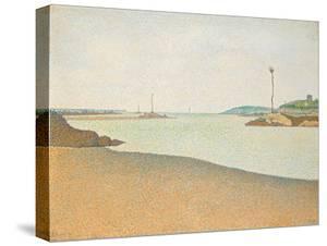 Les Balises, Saint-Briac, 1890 by Paul Signac