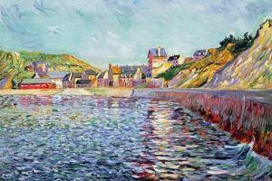 Port-En-Bessin, Calvados, C.1884 by Paul Signac