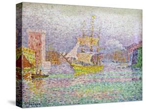 Port of Marseilles, 1906-1907 by Paul Signac