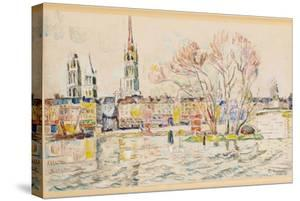Rouen, 1924 by Paul Signac