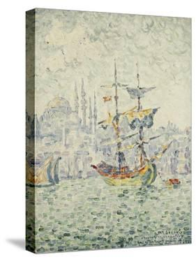 The Port of Constantinople; Le Port de Constantinople, 1907 by Paul Signac