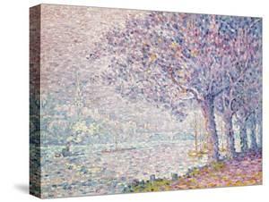 The Seine at St. Cloud, 1903 by Paul Signac