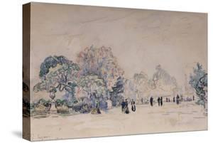 The Tuileries, Paris, 1910 by Paul Signac